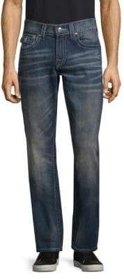 True Religion Whiskered Relaxed-Fit Jeans