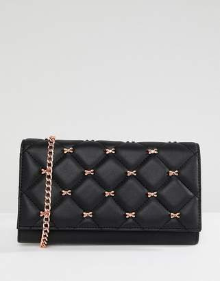 Ted Baker Quilted Bow Cross Body Purse Bag