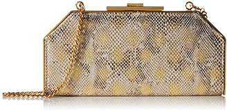 Halston Geo Frame Clutch Evening Bag