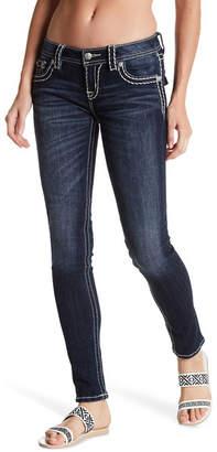 MISS ME Topstitch Skinny Jean $99.50 thestylecure.com