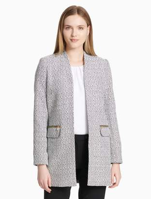 Calvin Klein open novelty jacket