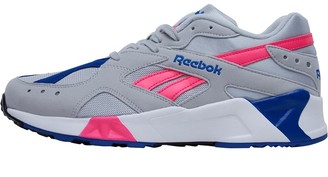 Reebok Classics Aztrek Trainers WE-Skull Grey/Acid Pink/Collegiate Royal/White