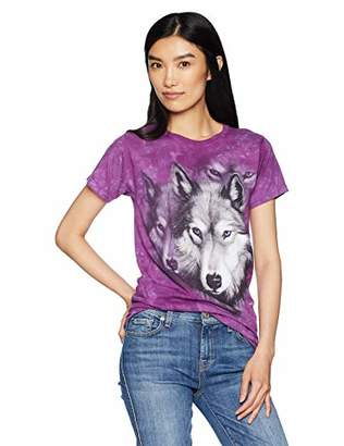 The Mountain Wolf Portrait Adult Woman's T-Shirt