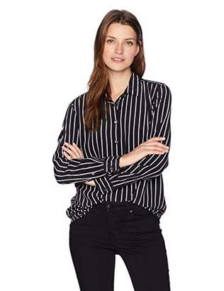 Equipment Women's Excellence Stripe Printed Essential Blouse