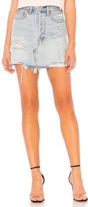 Levi's Deconstructed Skirt.