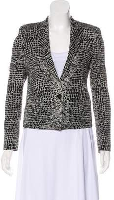 The Kooples Patterned Button-Up Jacket