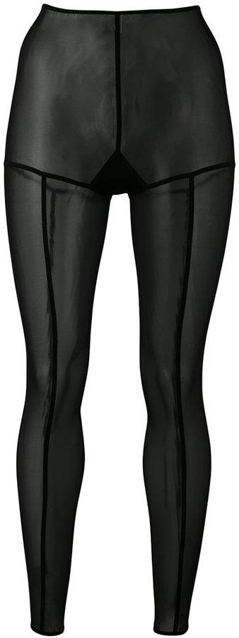 Ann DemeulemeesterAnn Demeulemeester soft tulle leggings