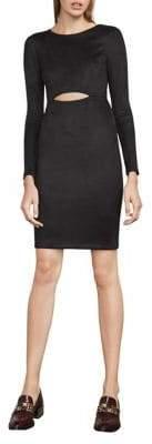 BCBGMAXAZRIA Long-Sleeve Cutout Dress