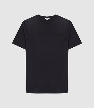 Reiss Walbrook - Melange T-shirt in Navy