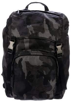 Prada Tessuto Camouflage Backpack