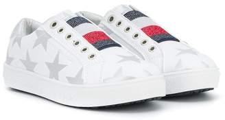 Tommy Hilfiger Junior star print slip-on sneakers