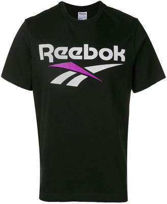 Reebok logo print crew neck T-shirt