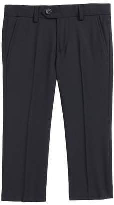 Blend of America Tallia Solid Flat Front Wool Trousers