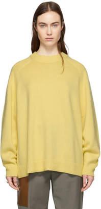 Tibi (ティビ) - Tibi イエロー カシミア オーバーサイズ セーター