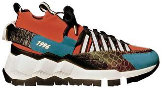 Pierre Hardy x victor cruz v.c.i sx03 sneakers brick/multi