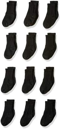 Hanes Big Boy's 12 Pack Crew Socks