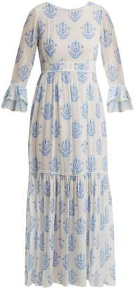 Vagabond ATHENA PROCOPIOU floral-print silk dress