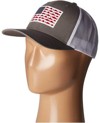 Columbia PFG Mesh Snap Back Ballcap Baseball Caps