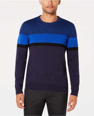 Alfani Men Ottoman Striped Sweater