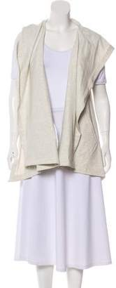 Yigal Azrouel Cut25 by Sleeveless Hoodie Vest