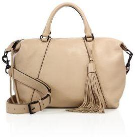 Rebecca Minkoff Isobel Leather Satchel $345 thestylecure.com