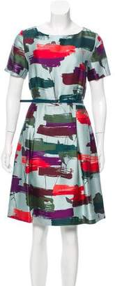 Raoul Printed Silk-Blend Dress