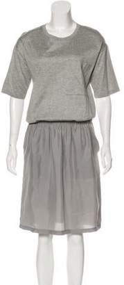 Joseph Short Sleeve Midi Dress