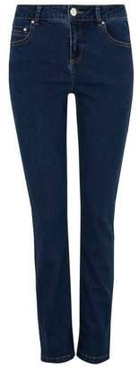 Wallis Petite Indigo Harper Straight Leg Jean