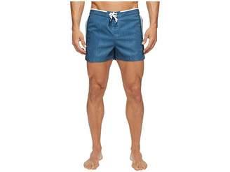 Original Penguin Stretch Athletic Side Stripe Men's Swimwear