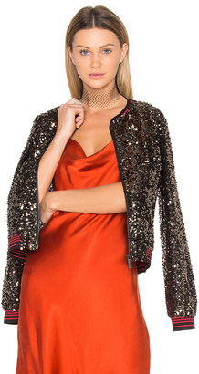 Sanctuary Sequins Bomber Jacket $189 thestylecure.com
