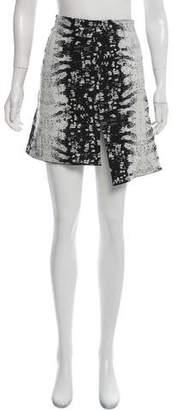 Reed Krakoff Asymmetrical Jacquard Skirt