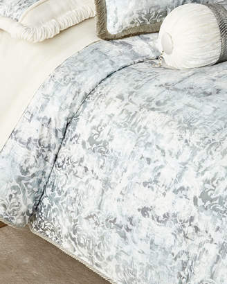 Dian Austin Couture Home Cristabella Damask Queen Duvet
