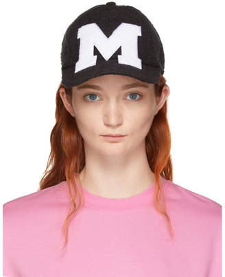 MSGM Black M Tweed Cap