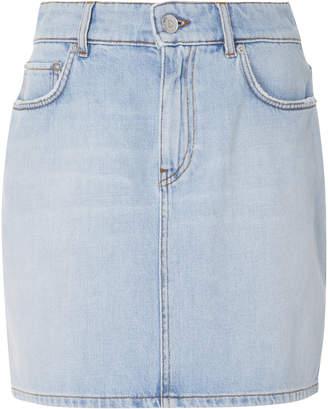 Ganni Sheldon Denim Mini Skirt