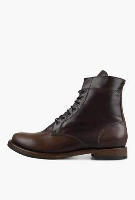 Sutro Footwear Mendelle Women's Lace Up Boot Mahogany