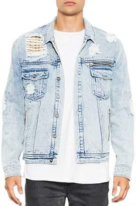 nANA jUDY Distressed Denim Jacket