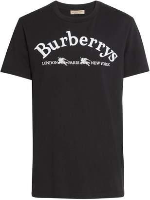 Burberry Archive Logo Cotton T-shirt
