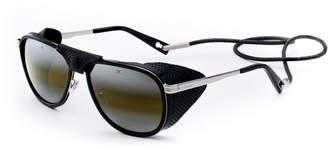 Vuarnet Men's Glacier XL Sunglasses w/ Removable Leather Side Case
