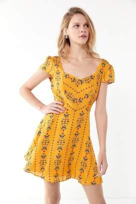 Urban Outfitters Finnigan Floral Mini Dress