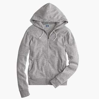 J.Crew Tall brushed fleece zip hoodie