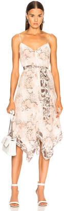 L'Agence Azalea Slip Scarf Dress