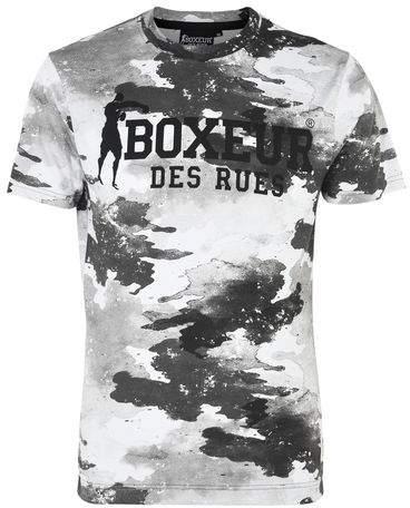 BOXEUR DES RUES SS RNECK T-SHIRT FRONT LOGO AND SUBLIMATION CAMOU T-shirts