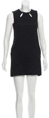 Milly Wool Printed Dress