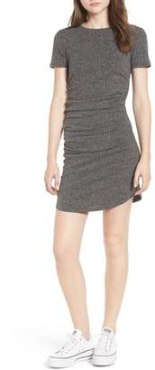BP Ruched Ribbed Body-Con Dress