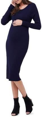 Rib Knit Bodycon Dress