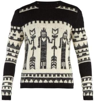 Saint Laurent Totem knit crew-neck sweater