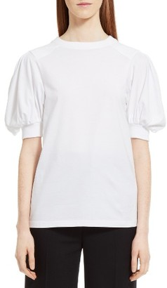 Women's Chloe Puff Sleeve Tee $395 thestylecure.com