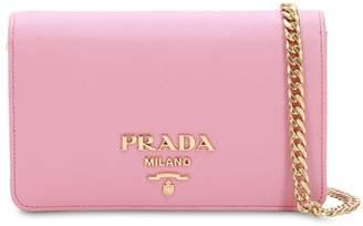 Prada Saffiano Leather Shoulder Bag