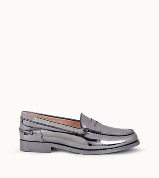 Tod's Tods Loafers in Metallic Leather