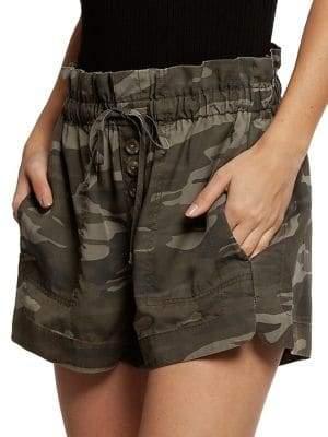 Dex High Waist Camo Shorts
